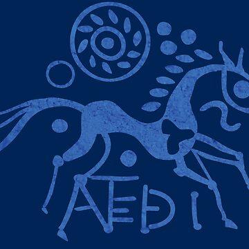 Iceni horse - ANTED by GaffaMondo