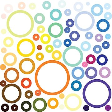 Colorful Circles by biibee