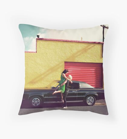 The Second Date Throw Pillow
