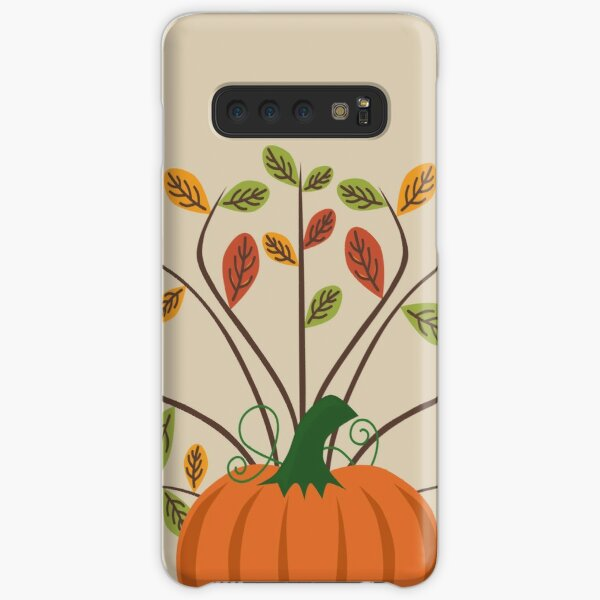 Fall Pumpkin Samsung Galaxy Snap Case