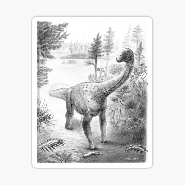 Euhelopus - The True Marsh Foot Sticker