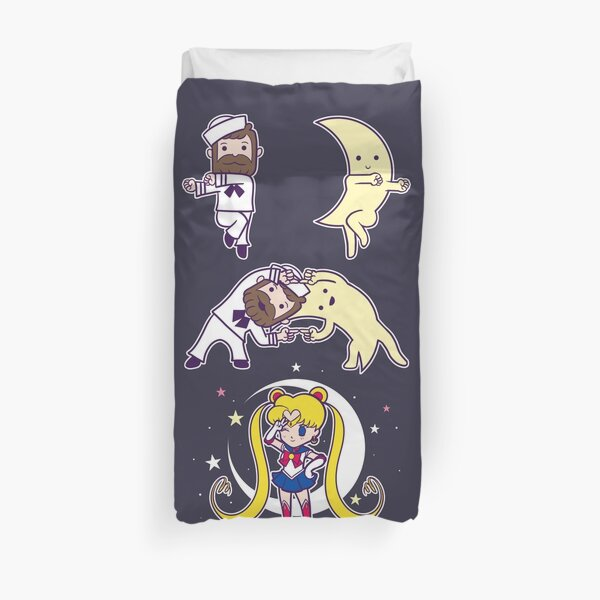 Sailor + Moon Duvet Cover