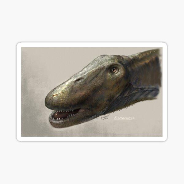 Alamosaurus Head Study Sticker