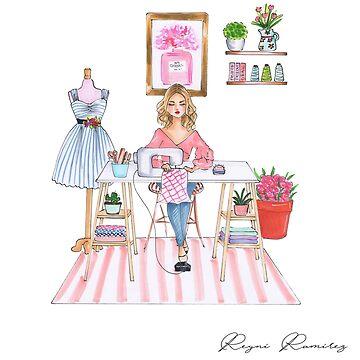 sewing room by reyniramirezfi