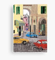 Call me by Your Name Drawing - Elio & Oliver - Crema Canvas Print