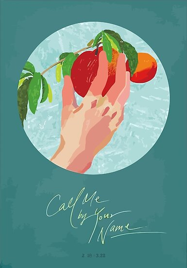 Call me by Your Name Drawing - Peach by Not a Lizard
