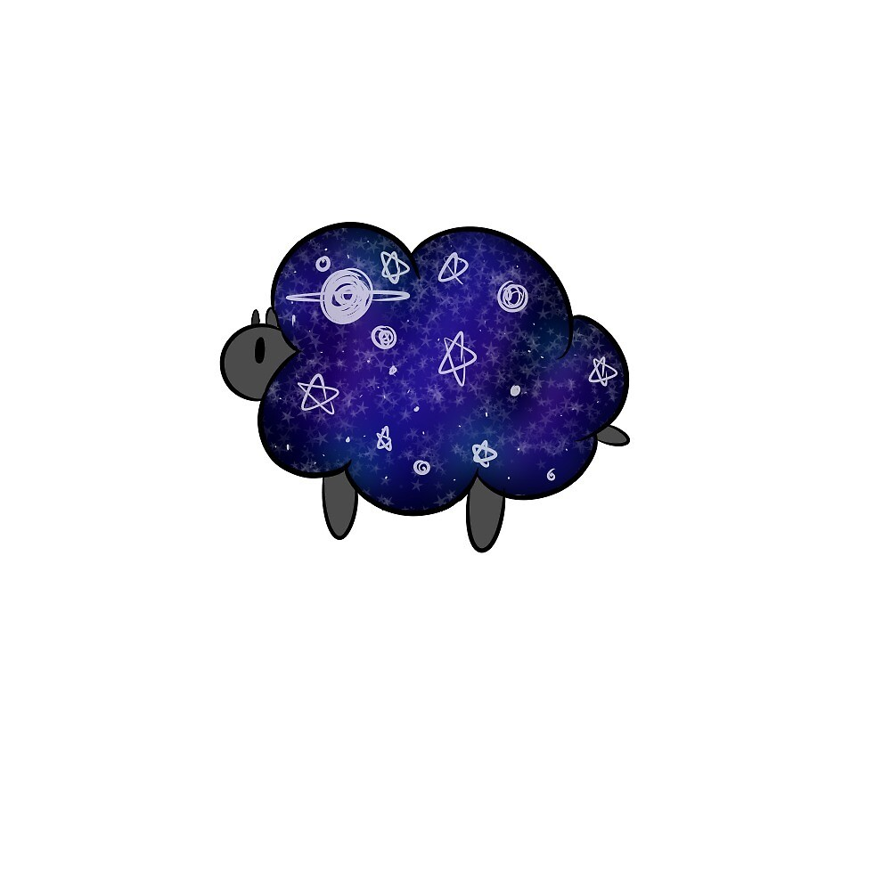 Space Sheep! by agapenate