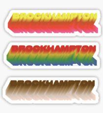 BROCKHAMPTON LOGO STICKER SET Sticker