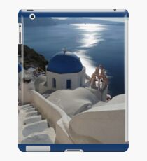Stairway to Blue Domed Church iPad Case/Skin