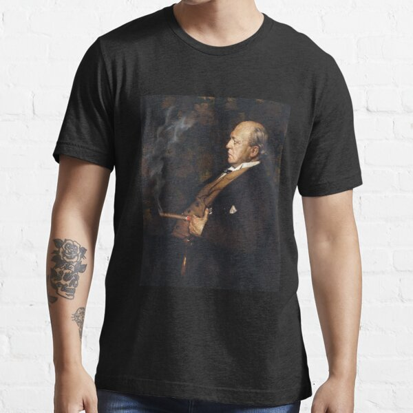 Cigar Smoker American History Art Portrait Essential T-Shirt