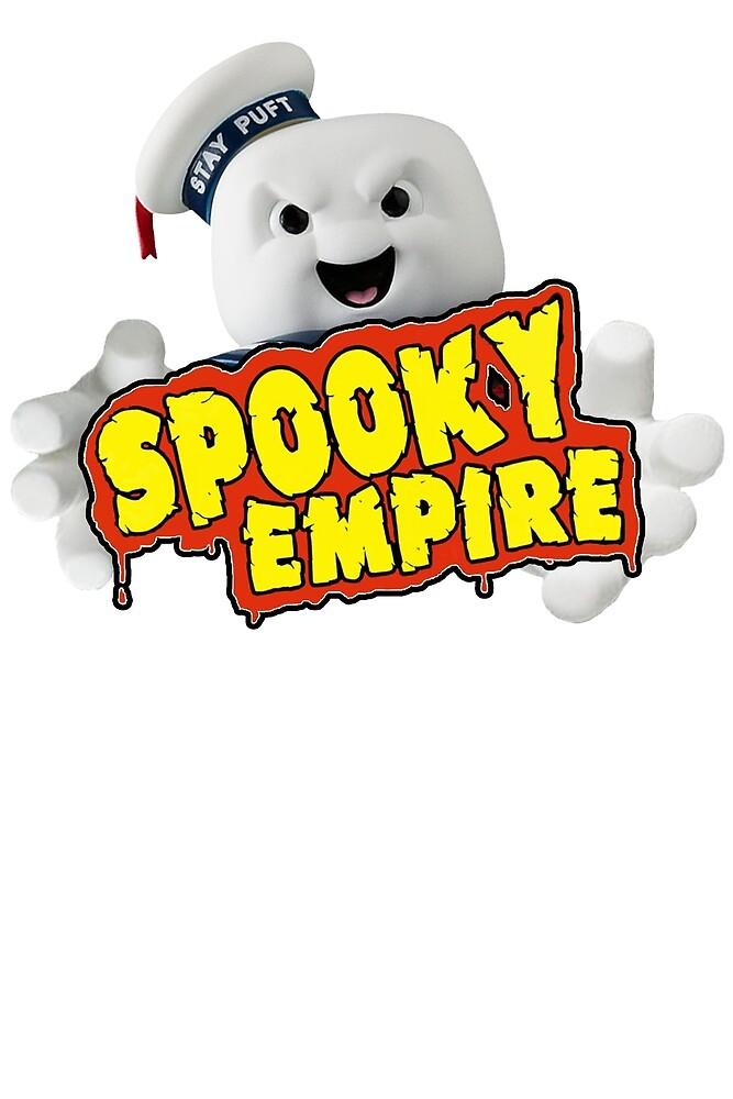 Pencilnecks Spooky Empire T-Shirt Logo by ghosttracer71
