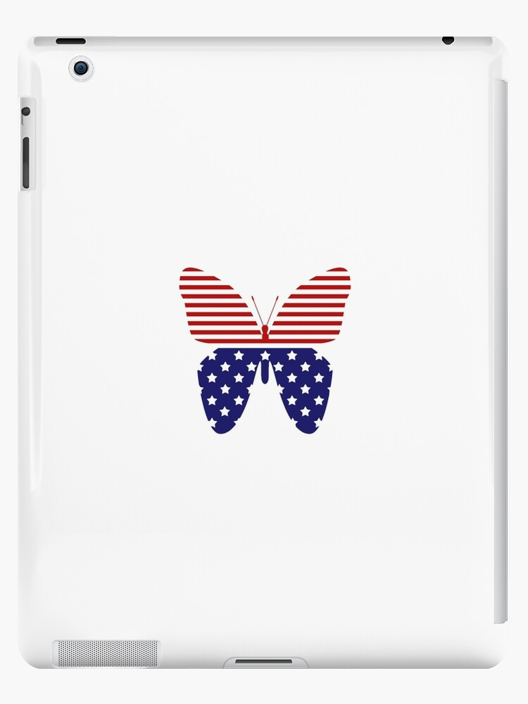 Patriotic Butterfly by reflydesigns