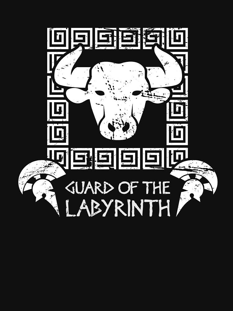 Greek Mythology Minotaur Labyrinth by EMDdesign