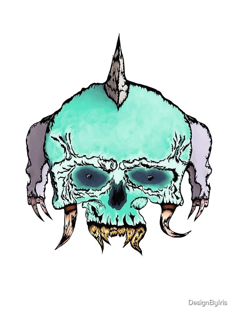Pirate skull monster by DesignByIris