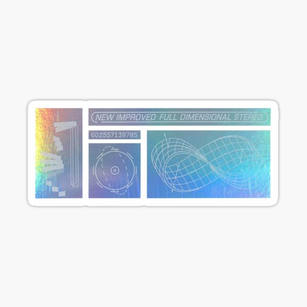 ENDLESS - NEW IMPROVED FULL DIMENSION STEREO Sticker