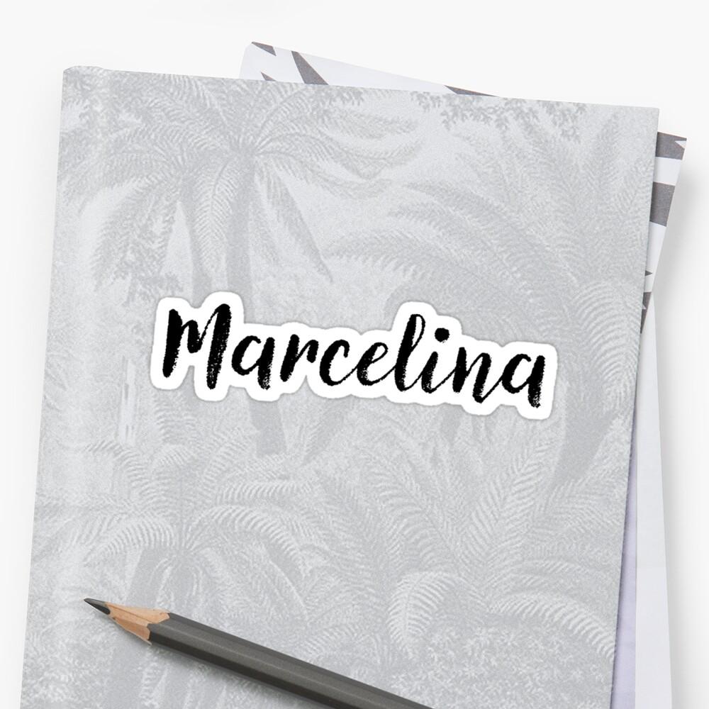 Marcelina - Custom Girl Name Gifts by stamaigra