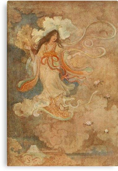 Kwanyin Beauty Godess Japan by Vintage-Moon
