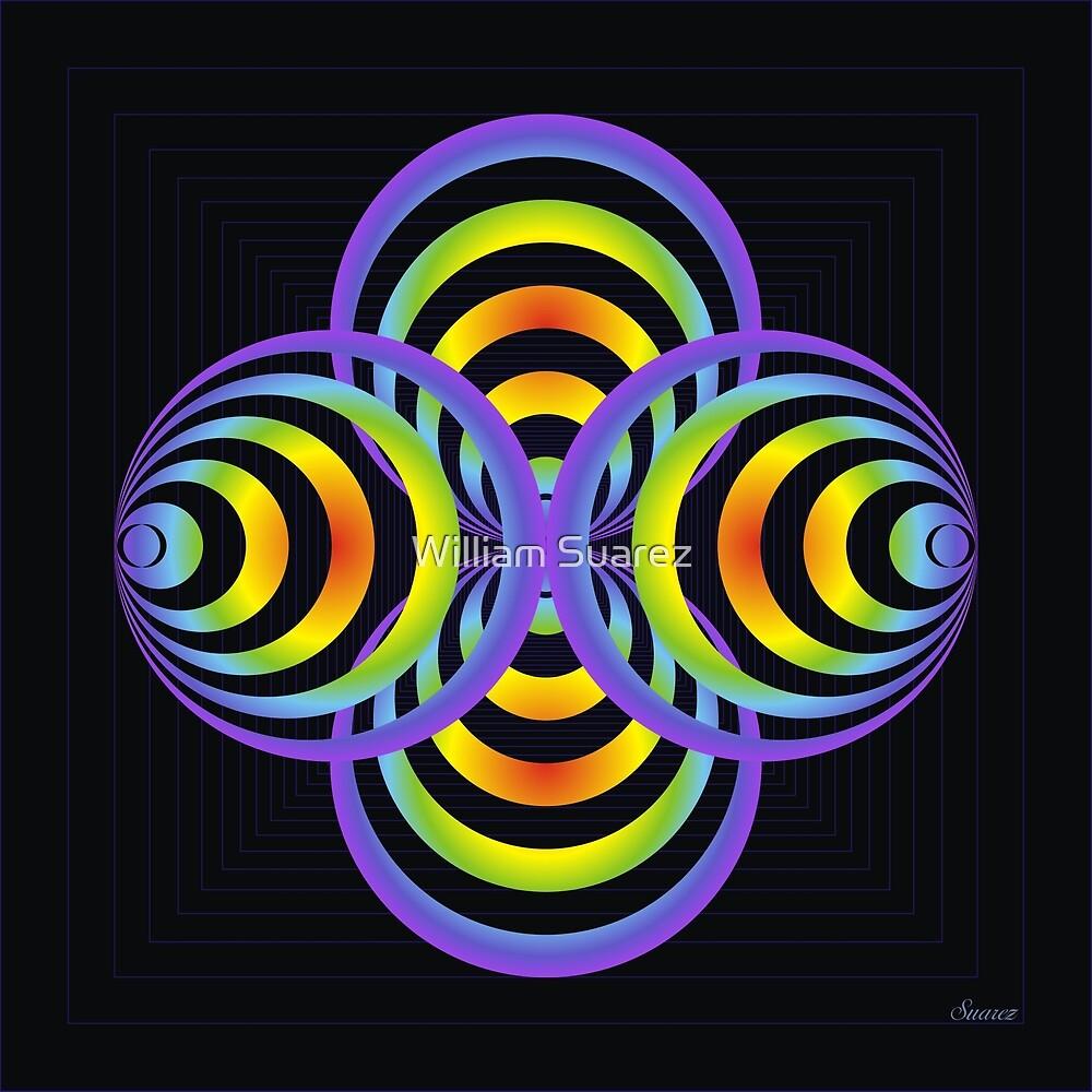 Chakra Colors #7 by William Suarez