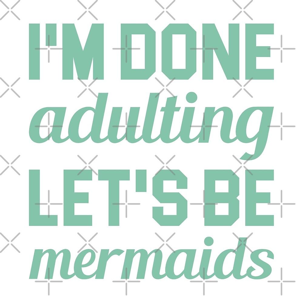 Let's Be Mermaids by DJBALOGH