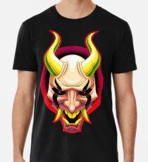 Lachender Dämon Männer Premium T-Shirts