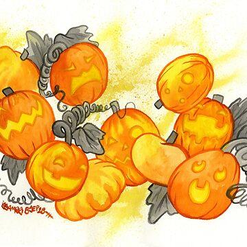 Jack O Lanterns by jojoseames