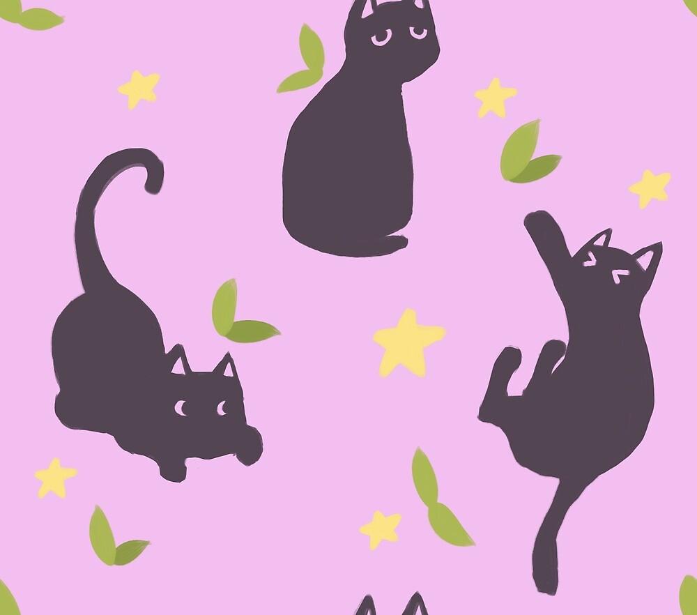 Kitties by jkedraws