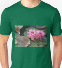 Louise Villemarette Water Lillies Unisex T-Shirt
