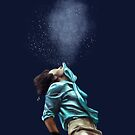 Harry spitting water  by Lizybeth93