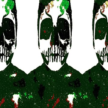 The Green Skull by MattBlac