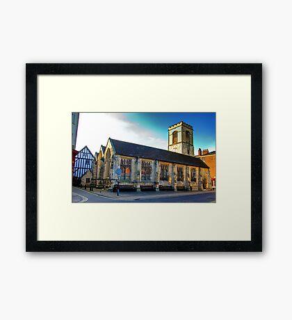 St Sampson Church - York Framed Print
