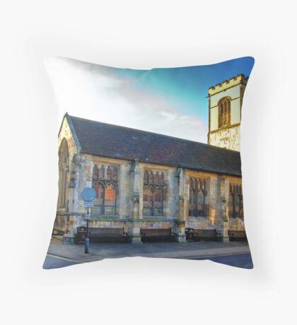 St Sampson Church - York Throw Pillow