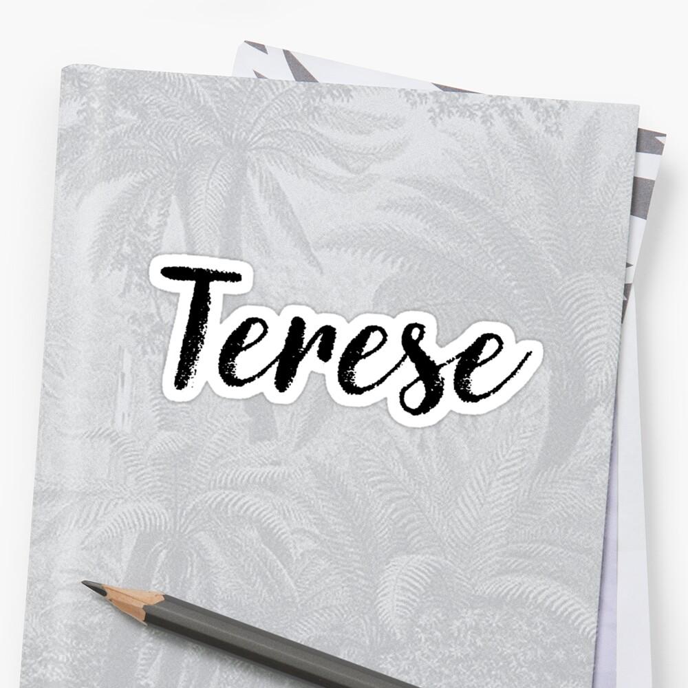 Terese - Custom Wife Daughter Girl Stickers Shirts by stamaigra