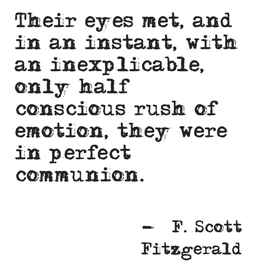 F Scott Fitzgerald Quote by historicalstuff