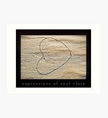 Expressions of Soul - Love Art Print