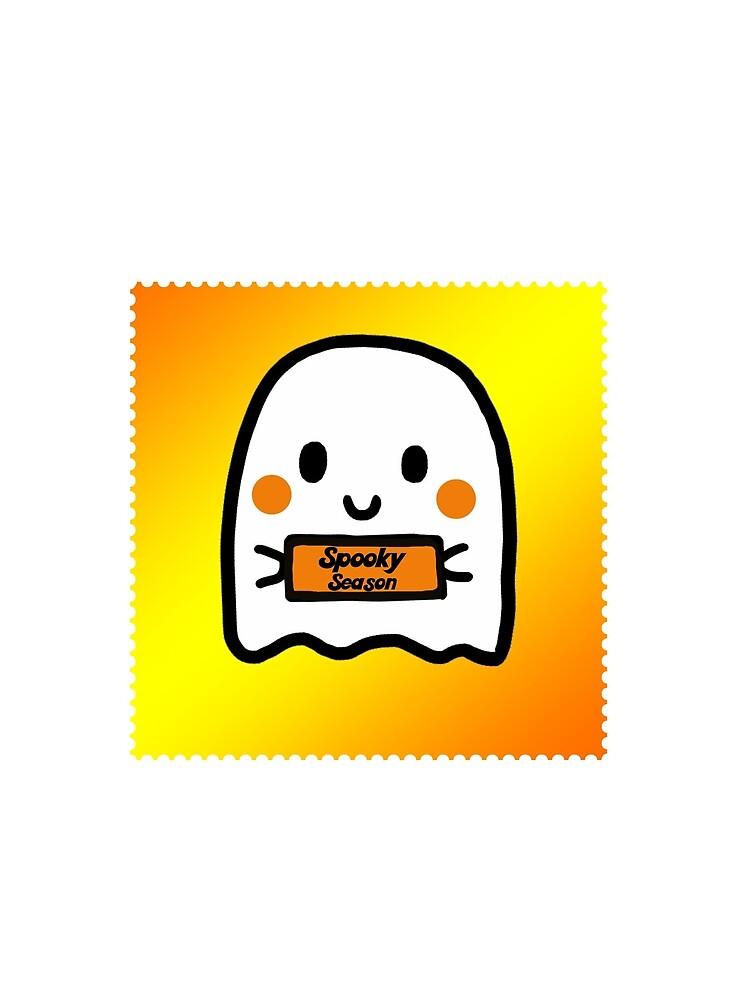 Cute Ghost Spooky Season by kbkutsor