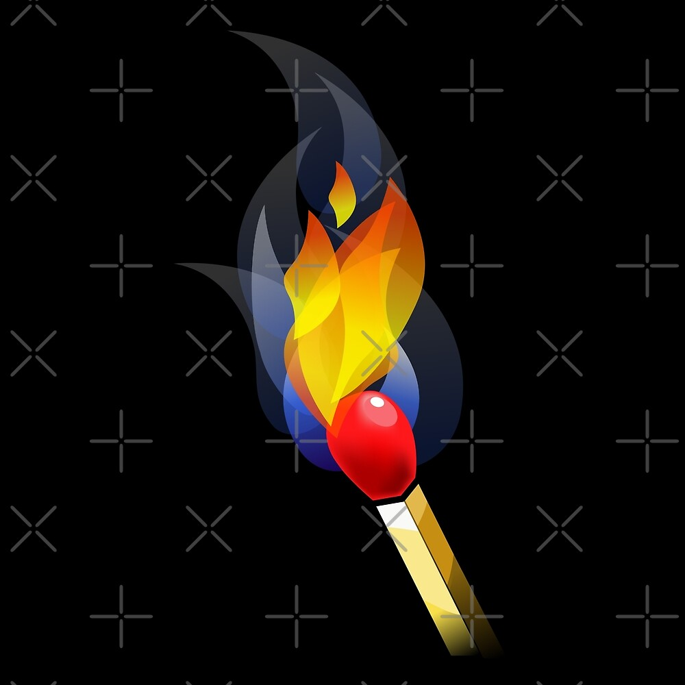 Lit Match Spark by DelcoBoy