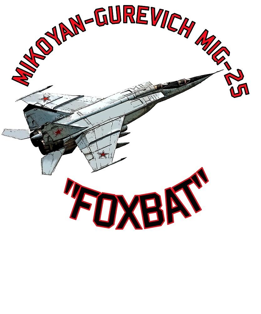 FOXBAT MIG 25 by Rex-Invictus