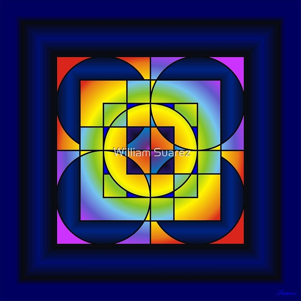 Chakra Colors #17 by William Suarez