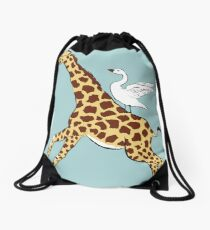 Neck Yes Drawstring Bag