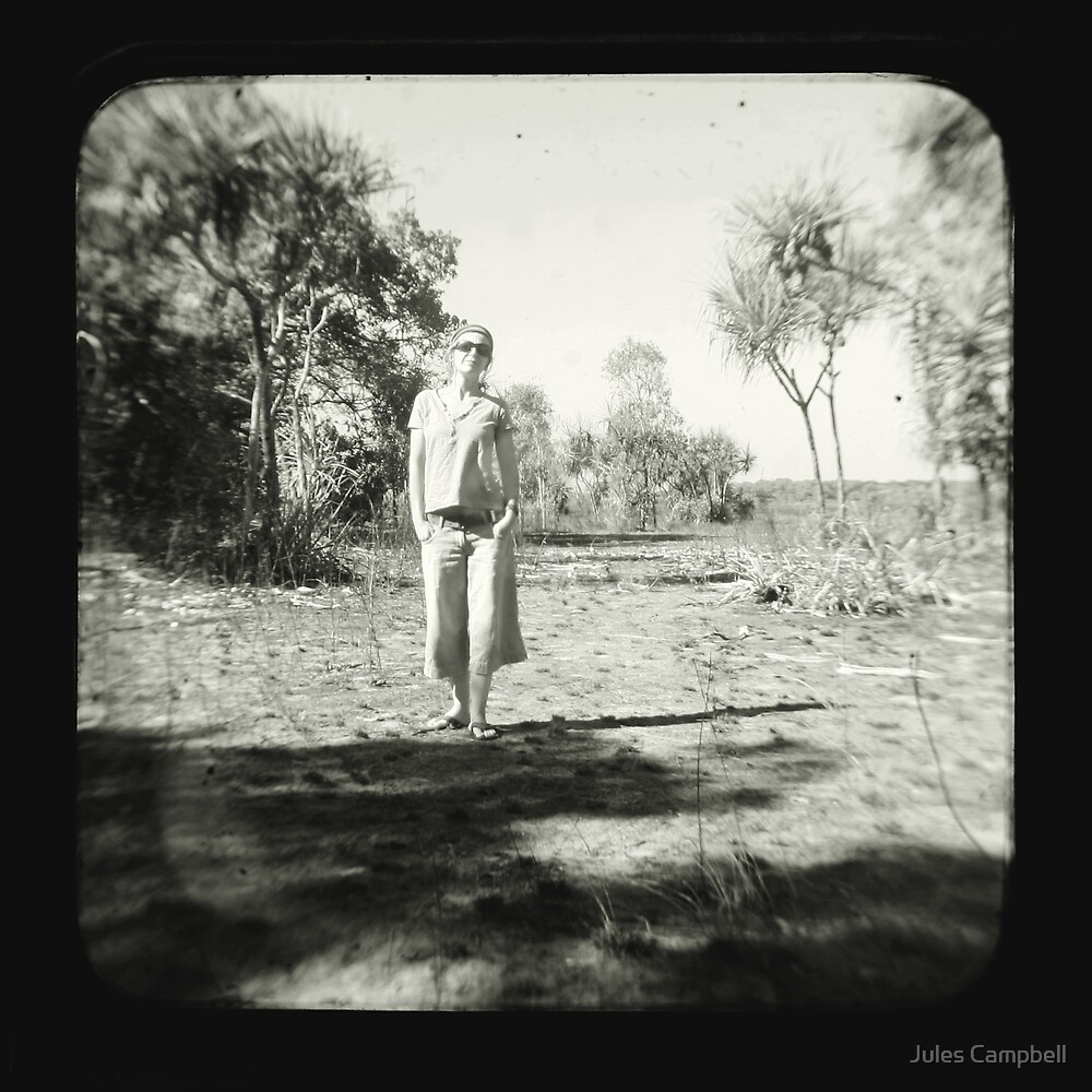 Me in the ttv by Jules Campbell