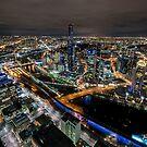 City Lights by Ray Warren
