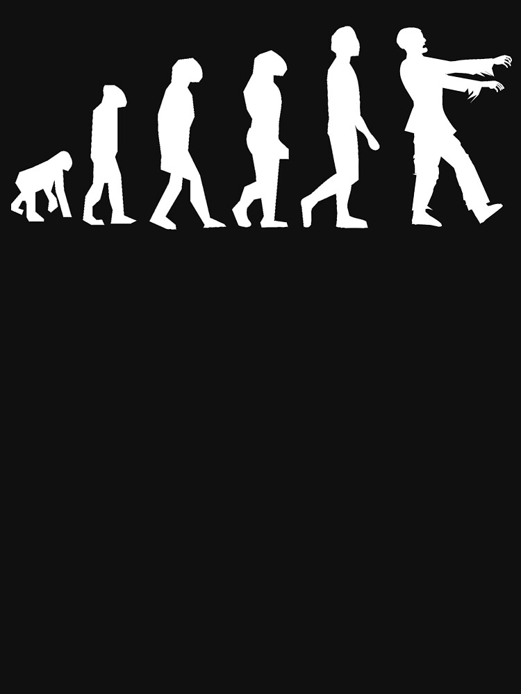 Zombie evolution by SlizzahShirts