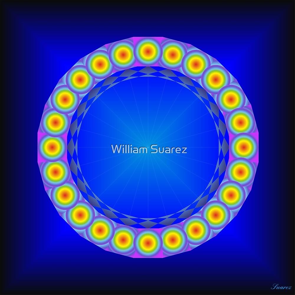 Chakra Colors #34-B by William Suarez