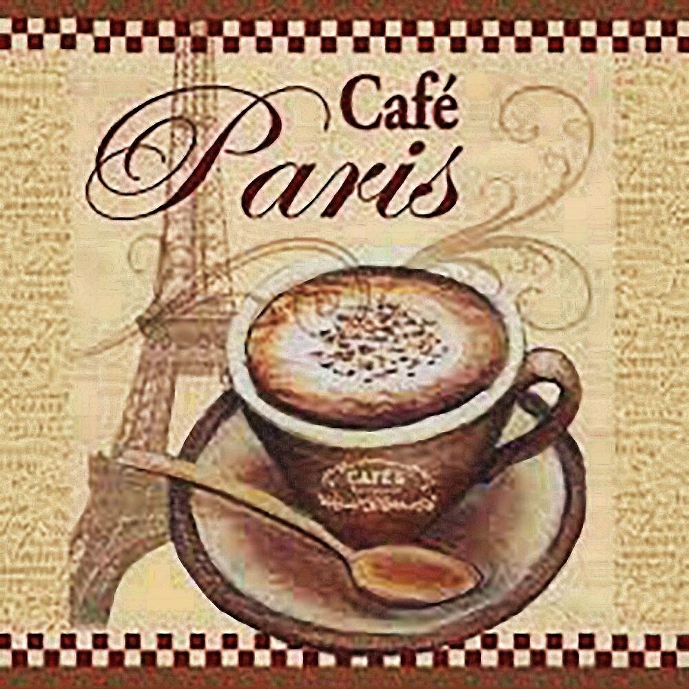 Paris coffee 1 by serbandeira