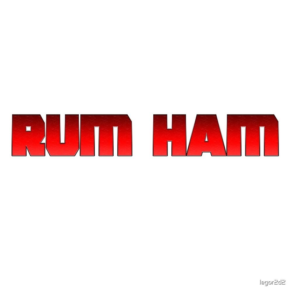 Pool Rum Ham by legor2d2