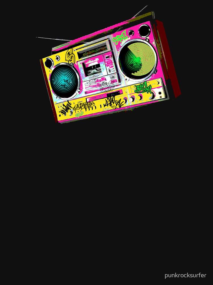 RETRO boom BOX by punkrocksurfer