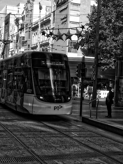 Melbourne Tram by Michael McGimpsey