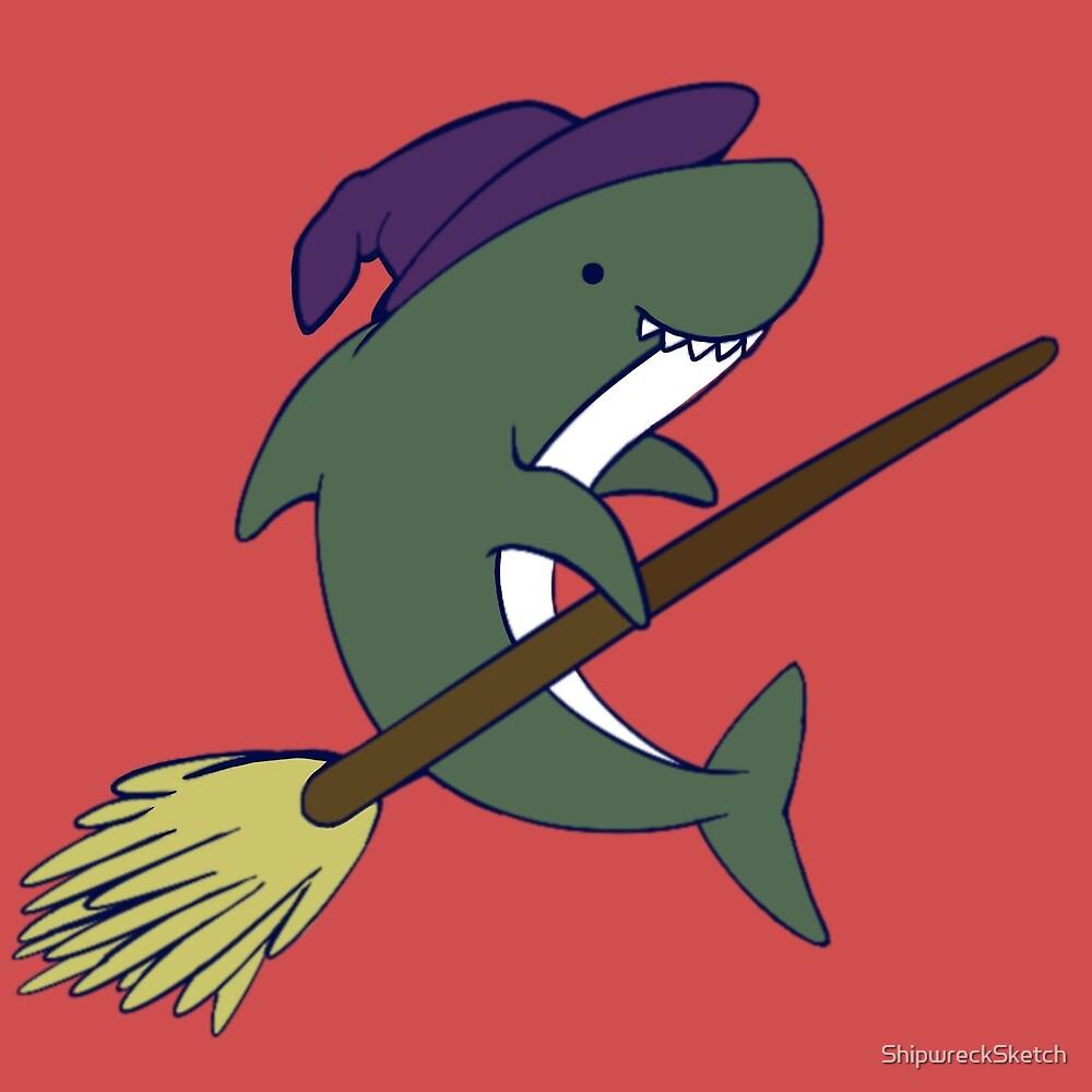 Witch Shark by ShipwreckSketch