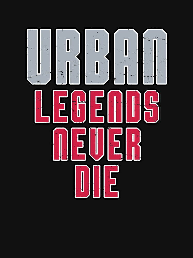 Urban Legends Never Die Football Ohio Pride Vintage by ZippyThread