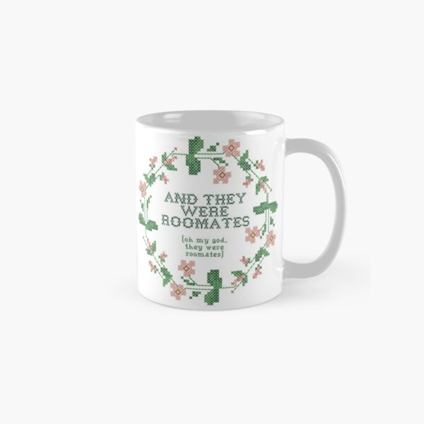 and they were roomates - vine quote cross stich Classic Mug